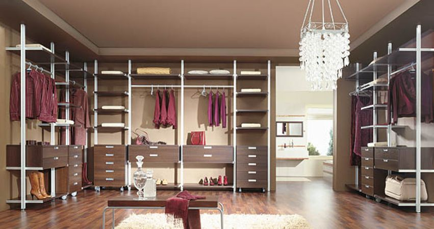 Sisteme usi glisante pentru dressing dulap sau dressing for Chambre walk in