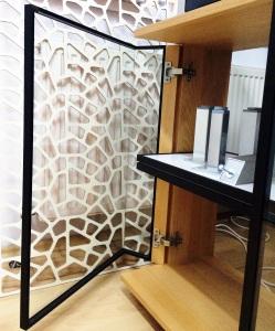 Rama aluminiu mobilier