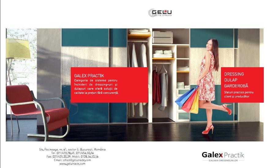 Dulap, dressing, garderoba - sfaturi practice pentru producator si clien GALEX PRACTIK